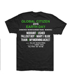 Global Citizen 2015 Earth Day Black Words Tee by H&M