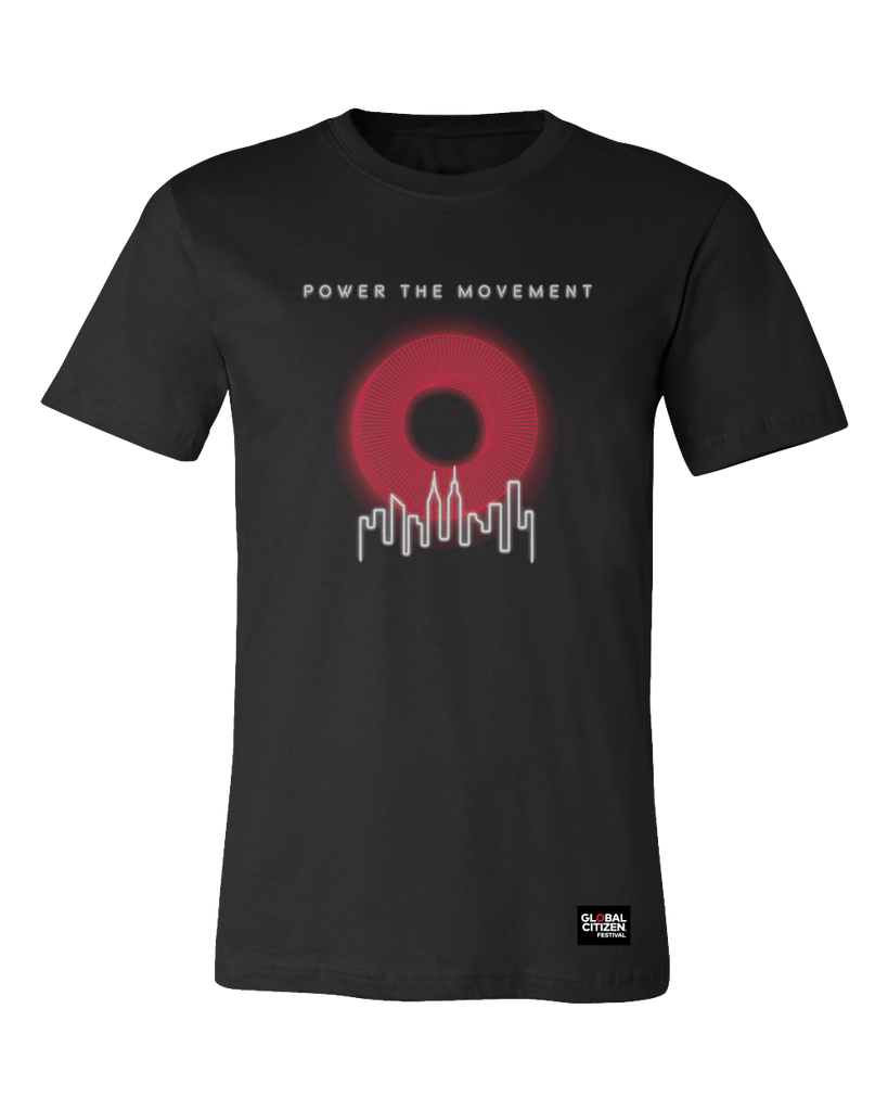 "Power the Movement ""O"" Tee"