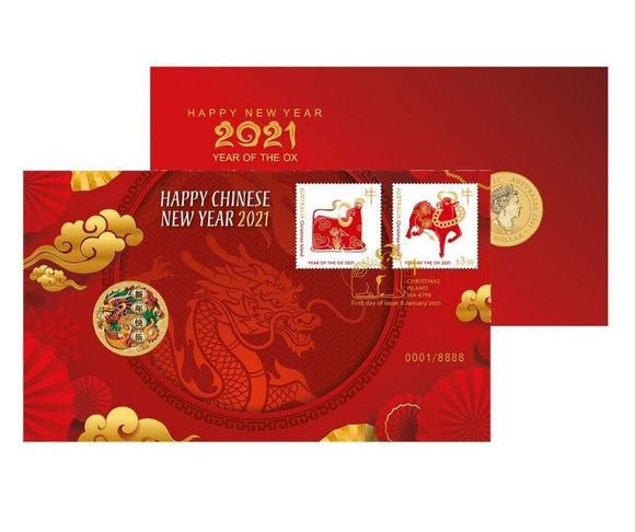 Happy Chinese New Year Dragon PNC