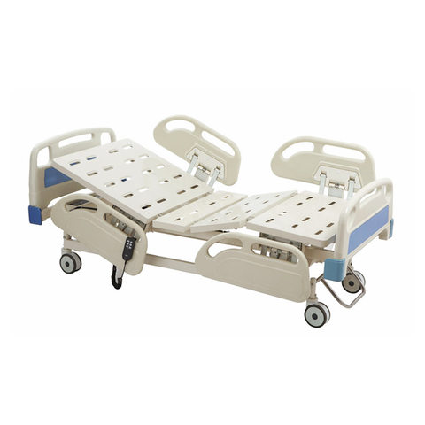 Basic Care Automatic Crank Hospital Bed (Includes Quad Bed Rail)