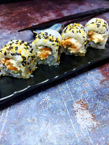 Baked Salmon Philadelphia roll
