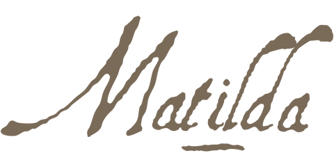 Matilda's signature. Matilda Your Tudor Girl. A Girl For All Time dolls, books and gifts. For families and doll collectors. Not associated with American Girl or Our Generation dolls.