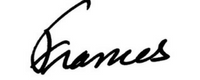 Frances signature. A Girl For All Time dolls, books and gifts.