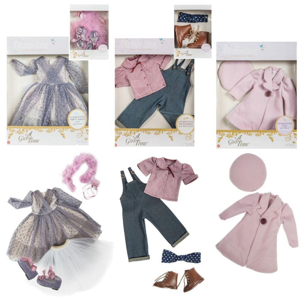 Clementine, Your 1940s Girl - COSTUME BUNDLE for 16 inch A Girl for All Time dolls