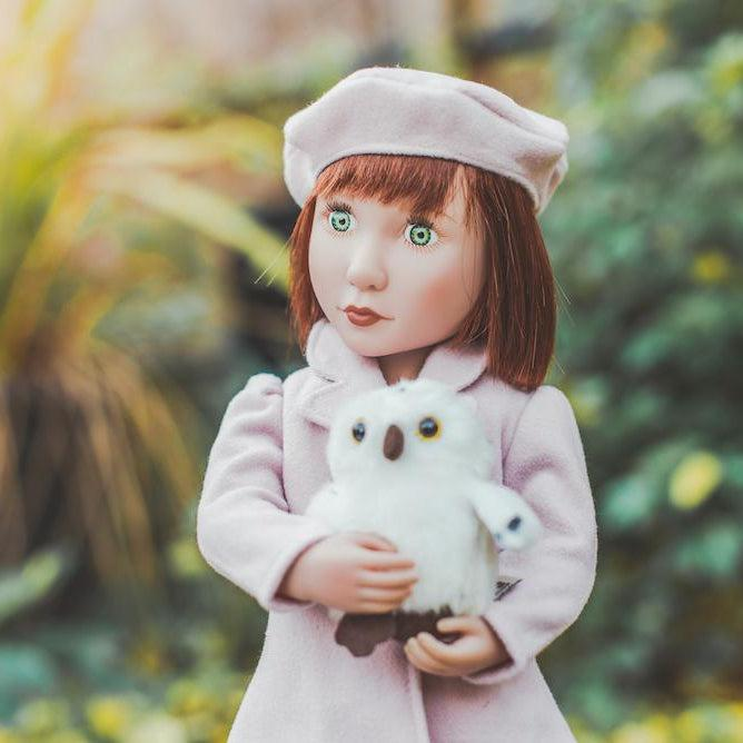 Clementine's Pink Coat and Beret-Costume-Dolls, Books & Gifts | A Girl for All Time UK