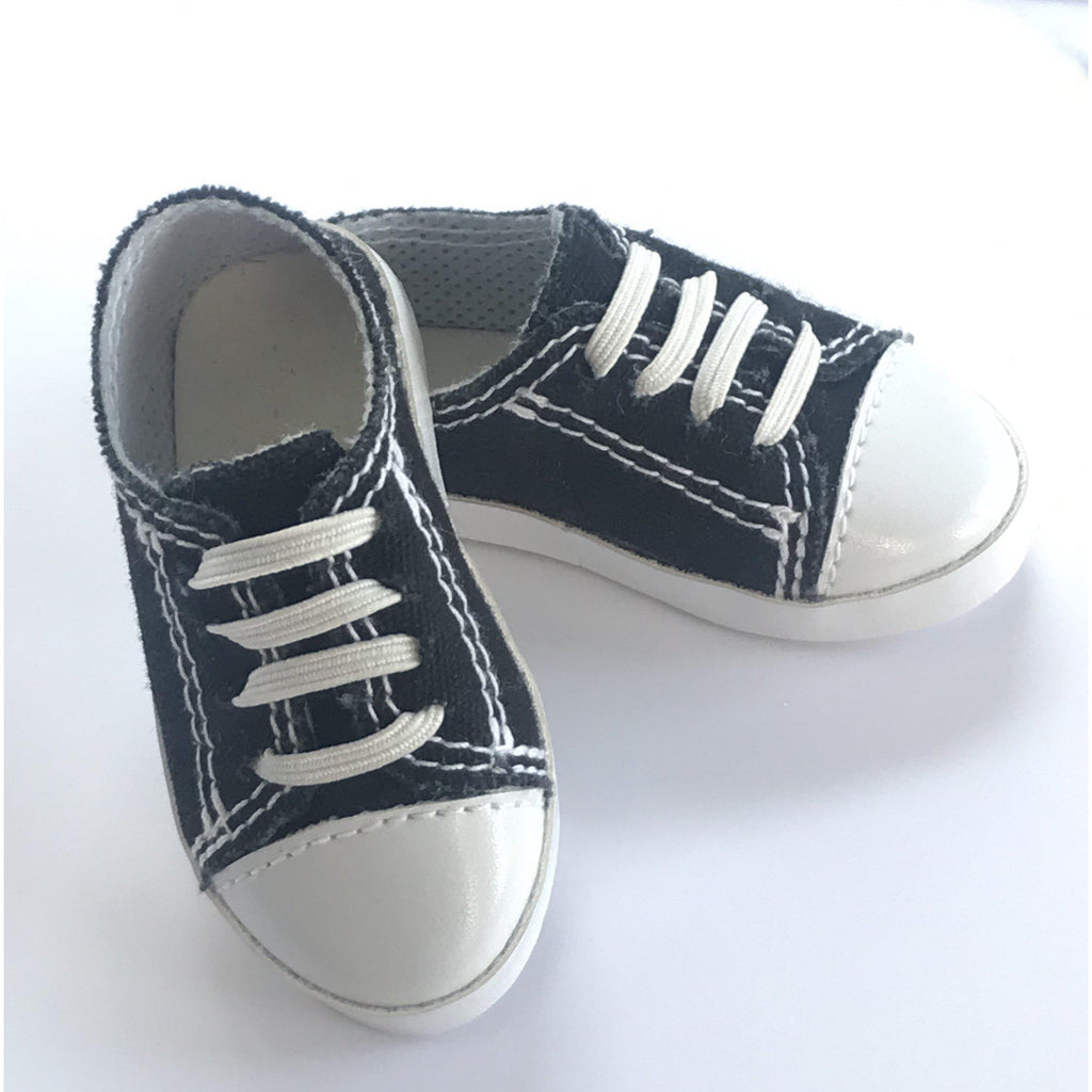 Black trainers for A Girl for All Time 16 inch dolls