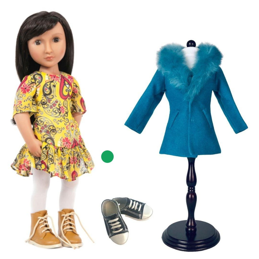 PRE ORDER BUNDLE OFFER -  Nisha's Bundle - Doll, costume and shoes