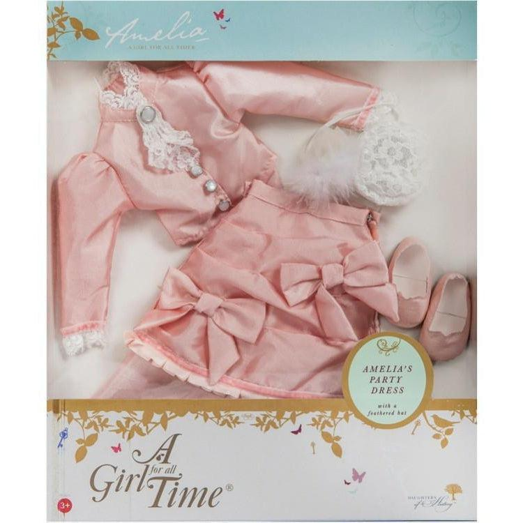 Amelia's Party Dress - doll clothes for 16 inch doll-Dolls, Books & Gifts | A Girl for All Time UK