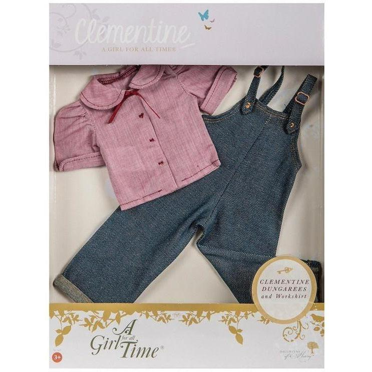Clementine's Land Girl Outfit - doll clothes for 16 inch dolls-Dolls, Books & Gifts | A Girl for All Time UK