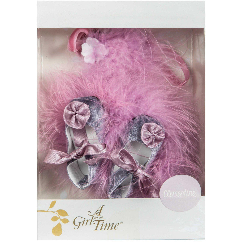 Clementine's Party Dress Accessory Pack-Accessories-Dolls, Books & Gifts | A Girl for All Time UK