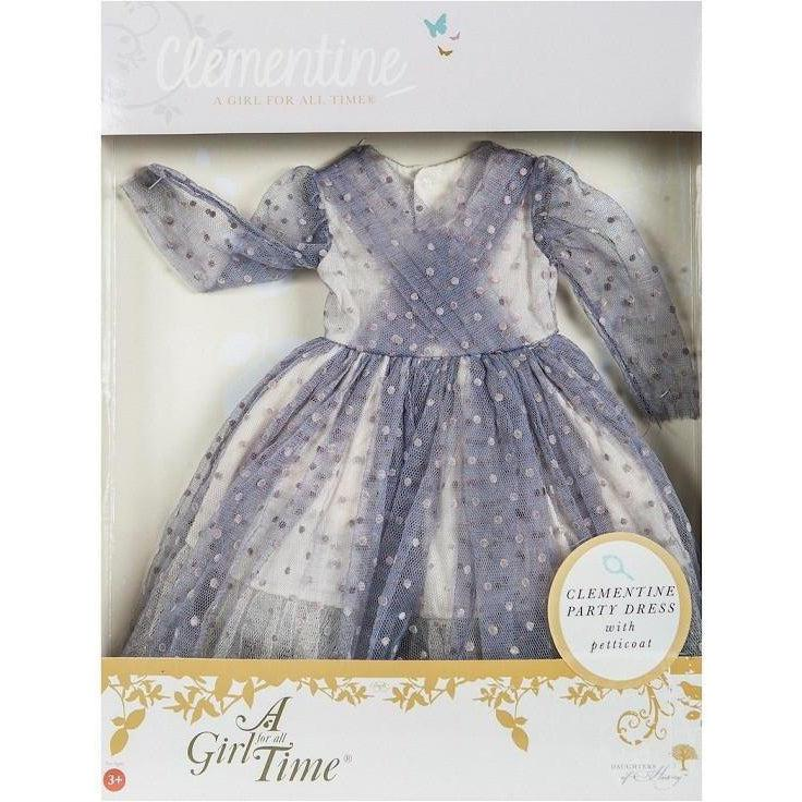 Clementine's Party Dress for 16 inch dolls-Dolls, Books & Gifts | A Girl for All Time UK