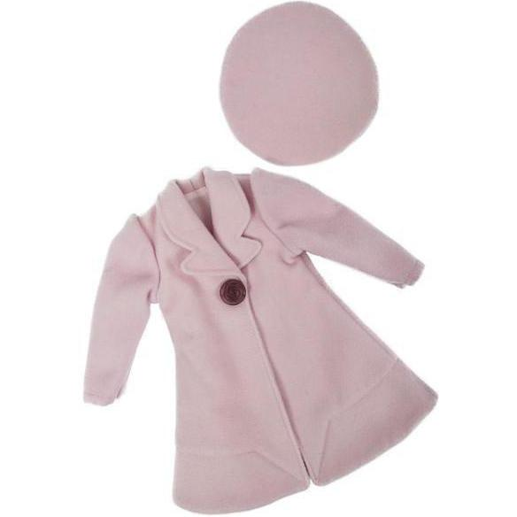Clementine's Pink Coat and Beret-Dolls, Books & Gifts | A Girl for All Time UK