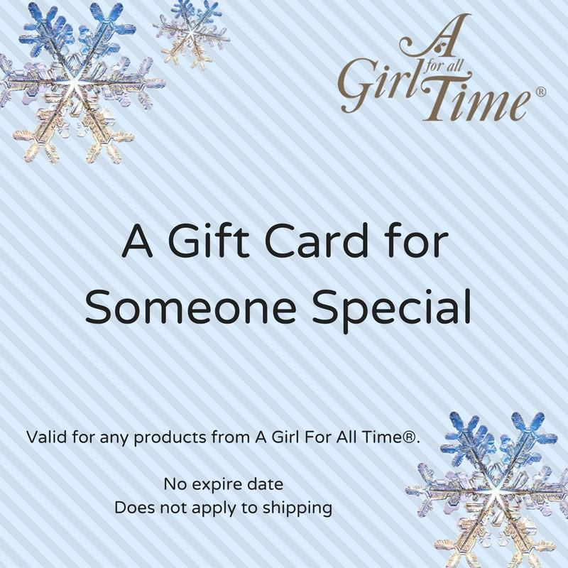Gift Card-Dolls, Books & Gifts | A Girl for All Time UK