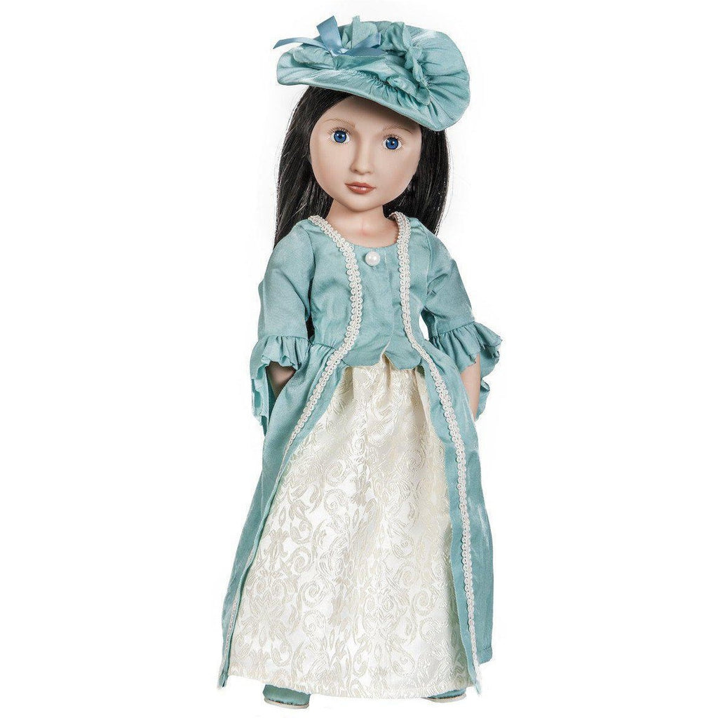 Lydia's Party Dress for 16 inch A Girl for All Time dolls-Costume-Dolls, Books & Gifts | A Girl for All Time UK