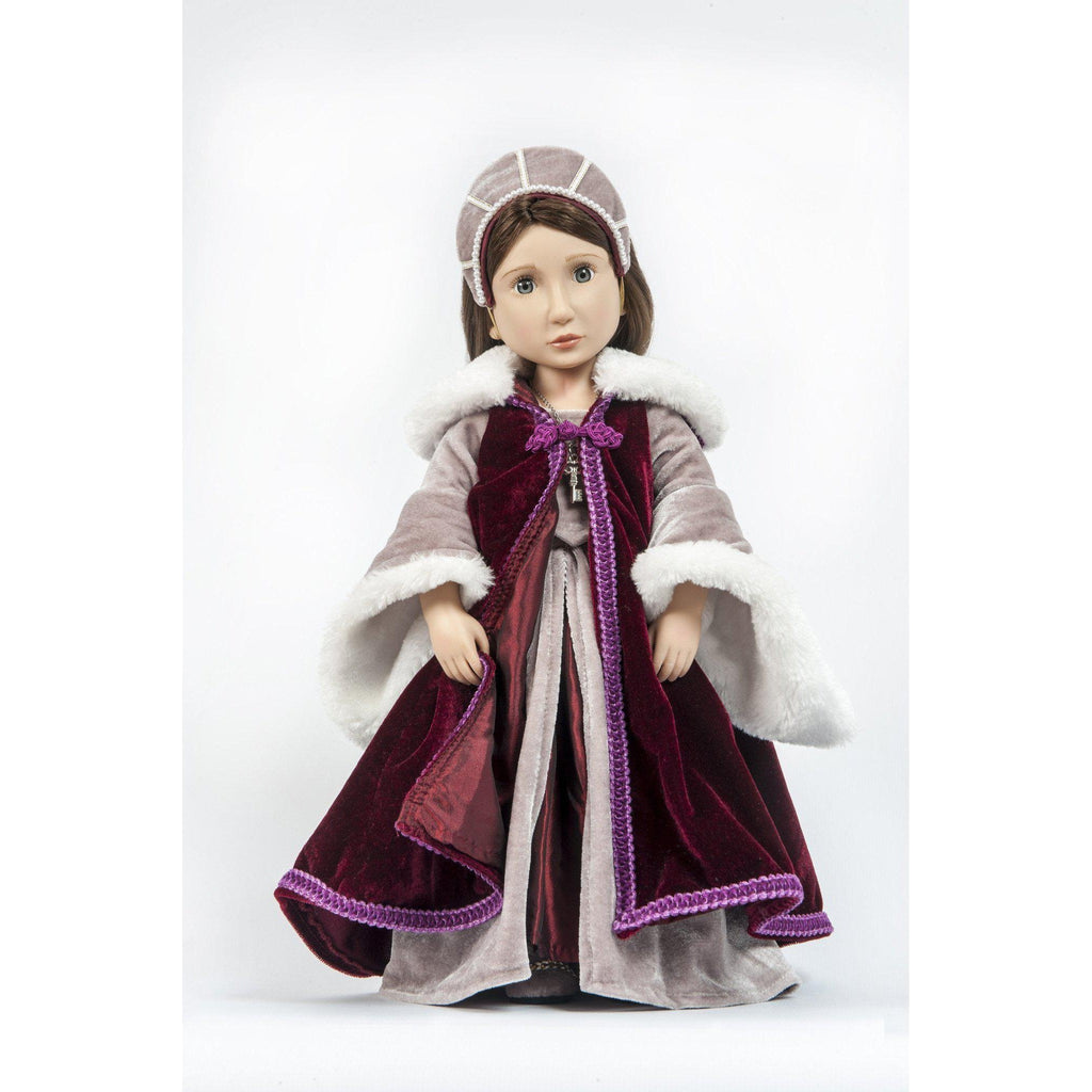 Matilda's Velvet Cloak for 16 inch dolls-Costume-Dolls, Books & Gifts | A Girl for All Time UK
