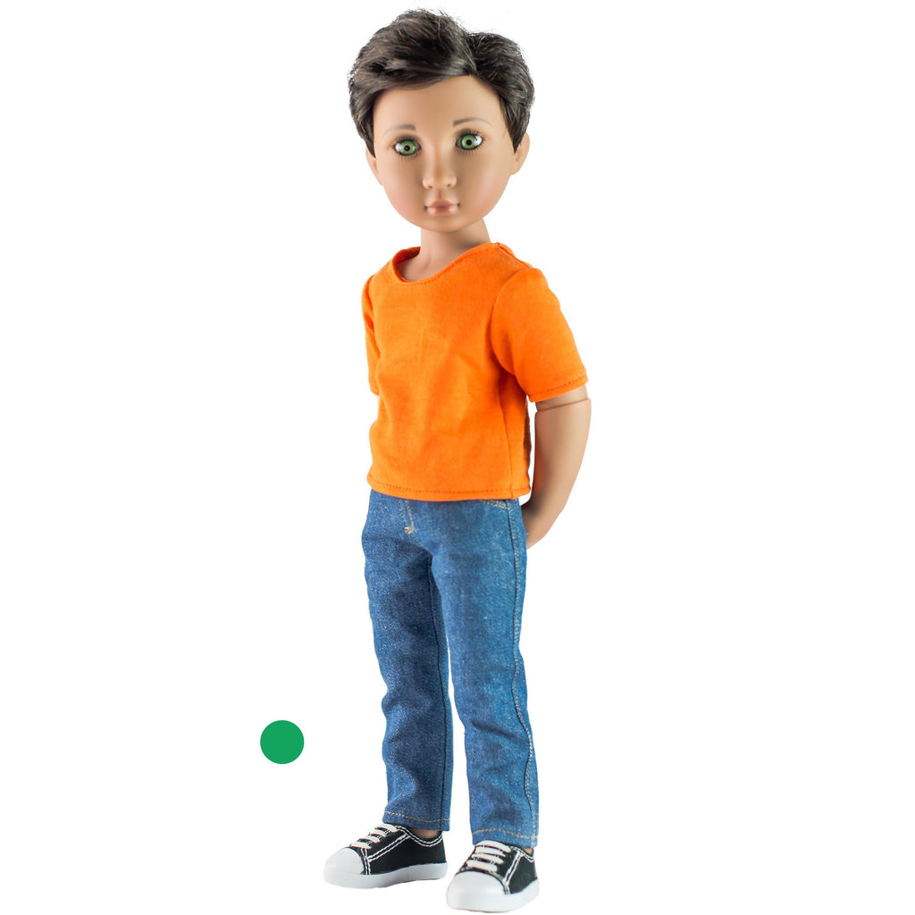 NEW: Max, Your Modern Boy - 16 inch doll-Dolls, Books & Gifts | A Girl for All Time UK
