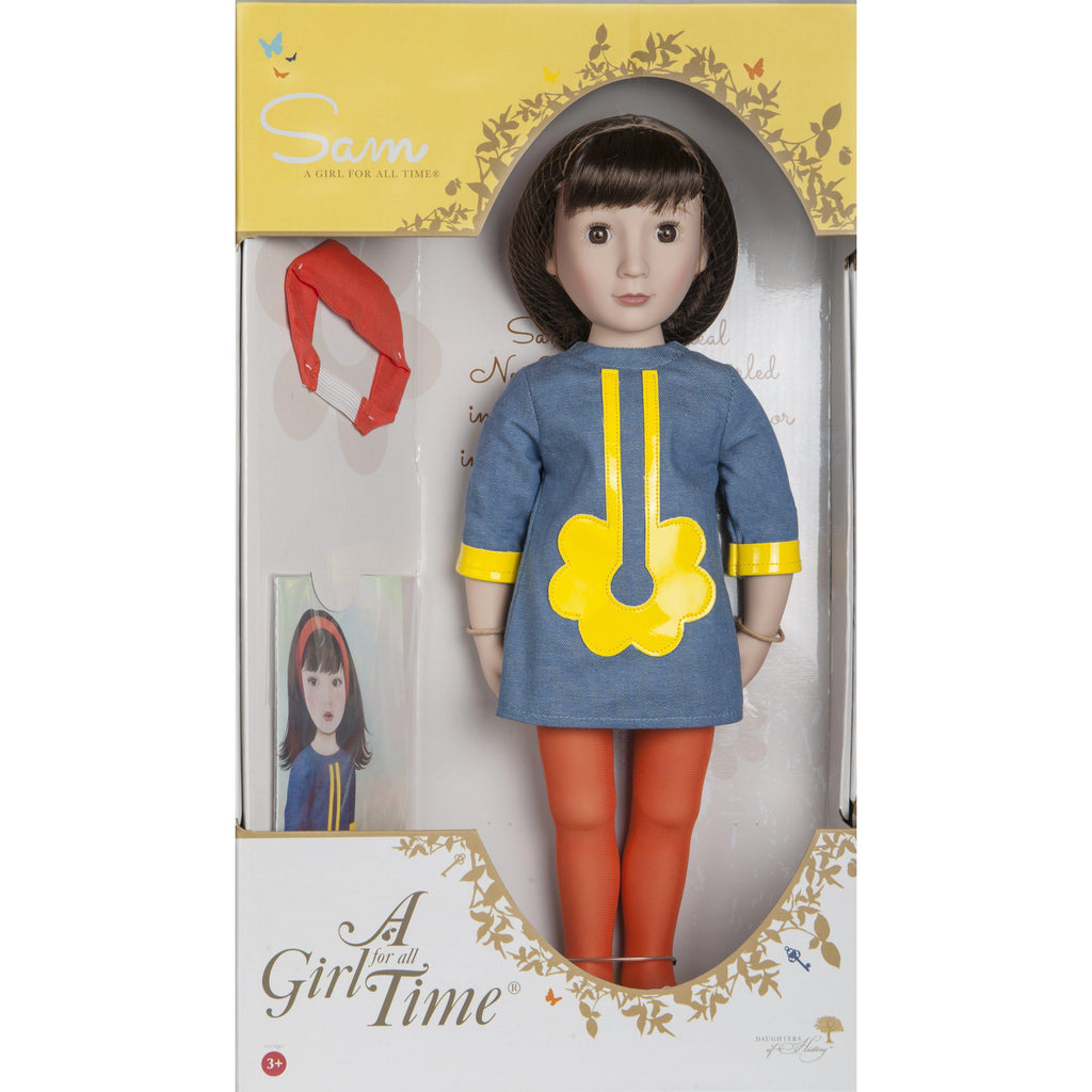 Sam, Your 1960s Girl ™ doll-Doll-Dolls, Books & Gifts | A Girl for All Time UK