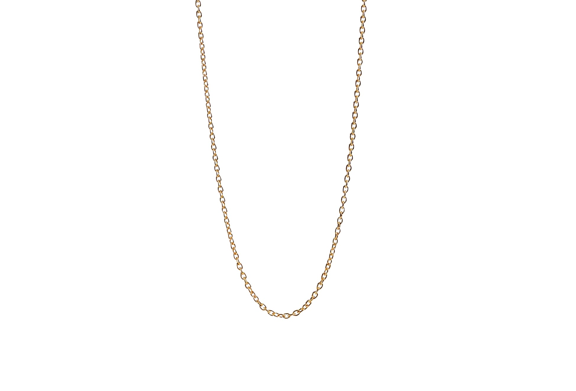 Pernille Corydon Anchor Chain Short Necklace gold plated