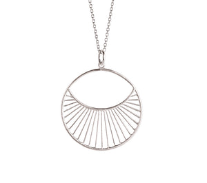 Pernille Corydon Daylight Necklace Short Silver