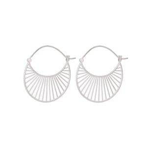 Pernille Corydon Daylight Earrings Large Silver