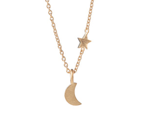 Pernille Corydon Luna Star Necklace Gold Plated