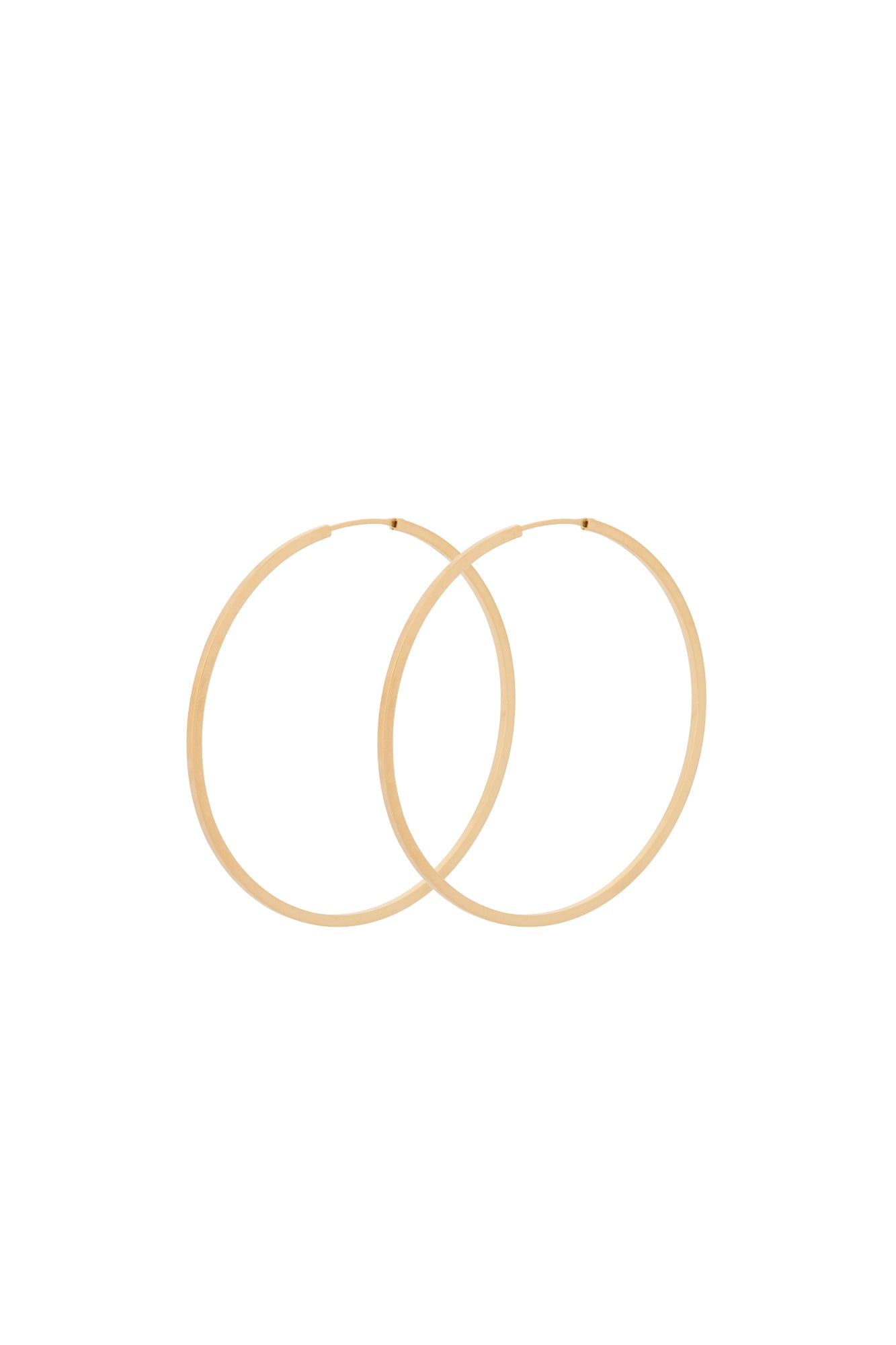 Pernille Corydon Orbit Hoops Gold Plated