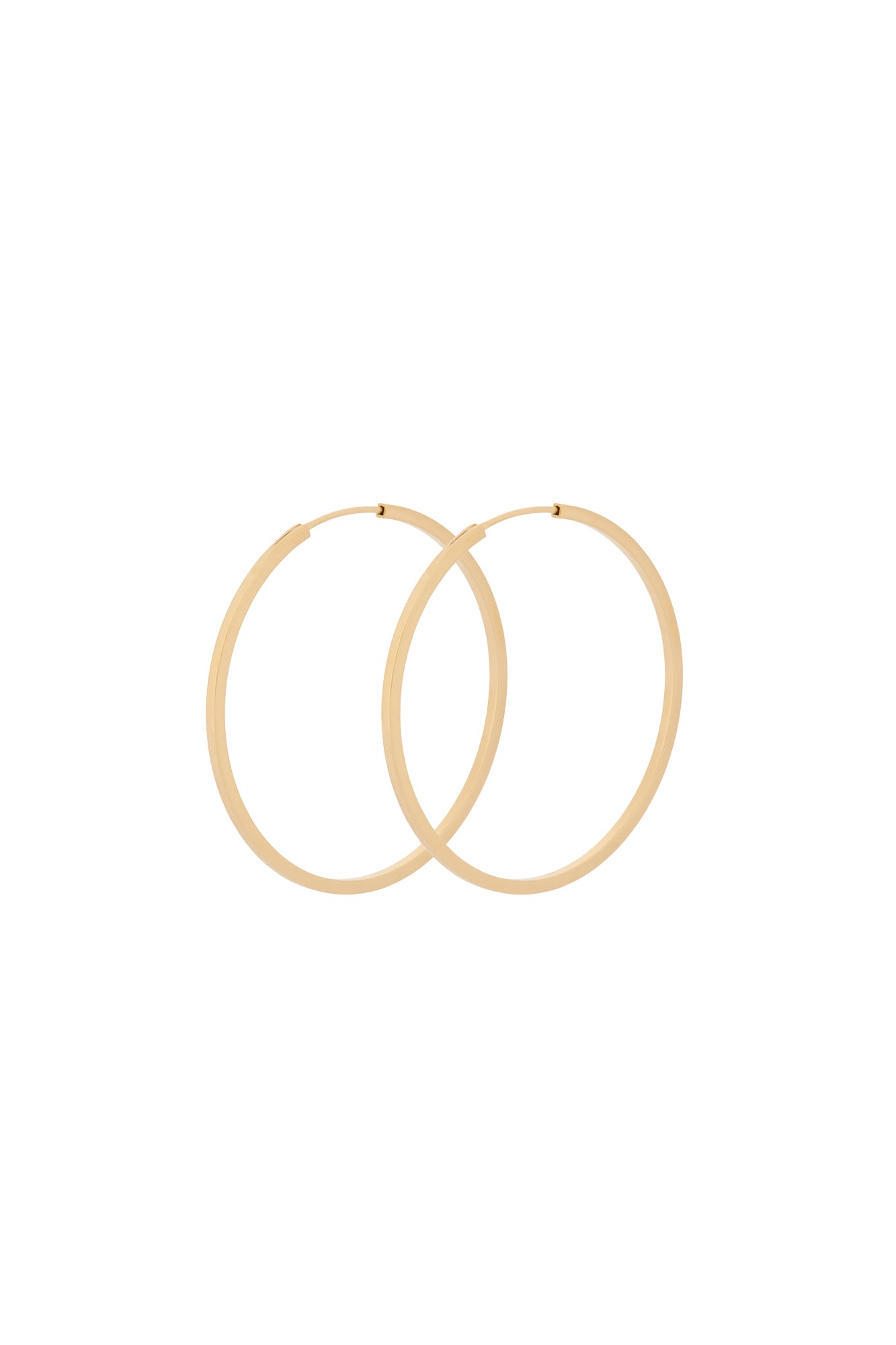 Pernille Corydon Small Orbit Hoops Gold Plated