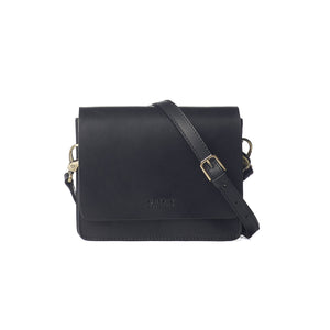O MY BAG Audrey Mini Black Classic Leather