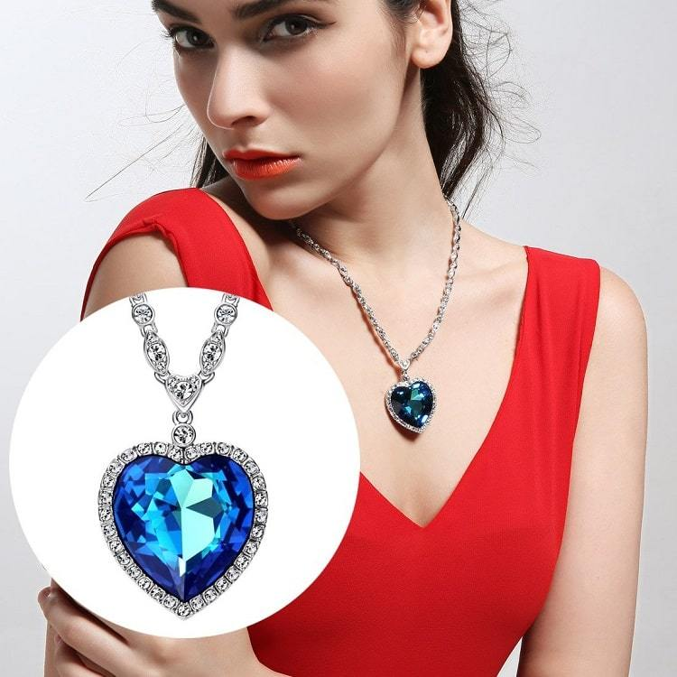 Replica Heart of the Ocean Necklace