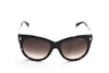 Jimmy Choo Ally MXBK8 Black Sunglasses at Enderbys UK