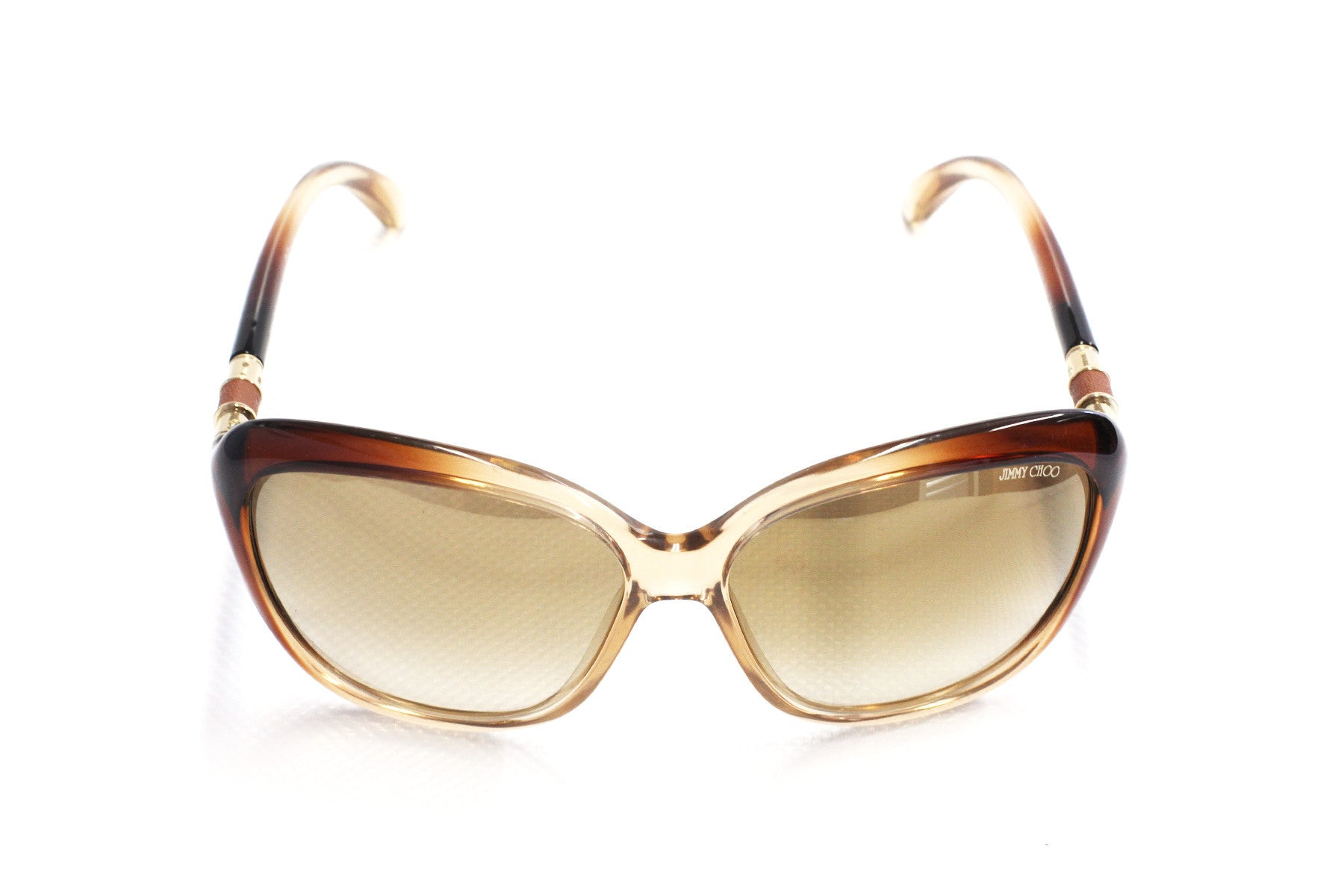 Jimmy Choo Stephanie BV8JL Brown Fade Sunglasses at Enderbys UK