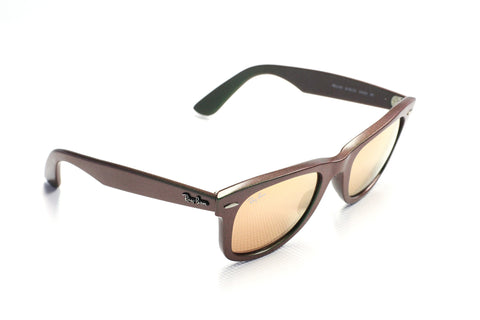 Ray-Ban RB2140 Wayfarer Classic 6109-Z2 Cosmos Green/Brown