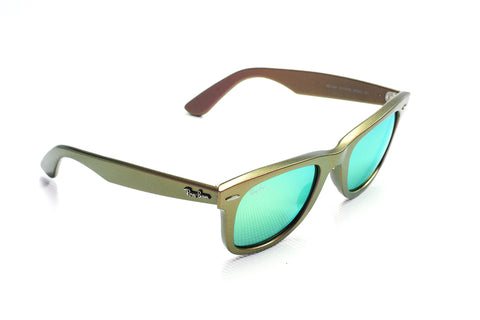 Ray-Ban RB2140 Wayfarer Classic 6110-19 Cosmos Brown/Red