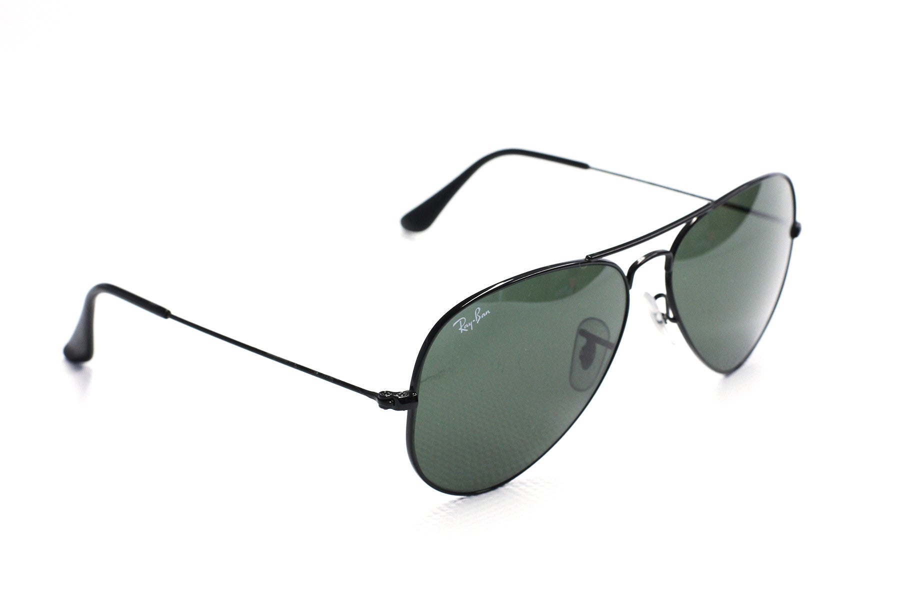 Ray-Ban RB3025 Aviator L2823 Black Sunglasses at Enderbys UK
