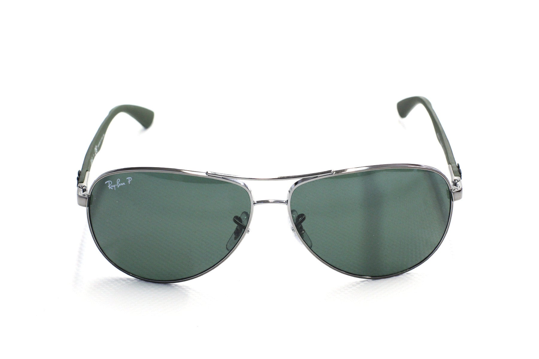 Ray-Ban RB8313 Carbon Fibre 004-N5 Gunmetal Polarised Sunglasses at Enderbys UK