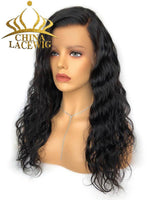 150% Density Deep Wave HD Lace 360 Lace Frontal Wigs With Baby Hair CF174