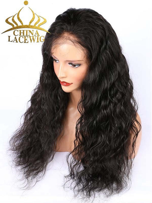 Chinalacewig Preplucked HD Lace Loose Wave Full Lace Human Hair Wigs CF231