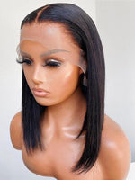 Straight Bob Glueless 13X6 HD Lace Front Wigs NCF61