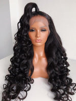 Chinalacewig Undetectable HD Lace 180% Loose Wave 13x6 Lace Front Wigs Real HD Lace NCF64