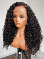 Chinalacewig HD Film Lace 13x6 Lace Front Wig Deep Curly Wigs CF281