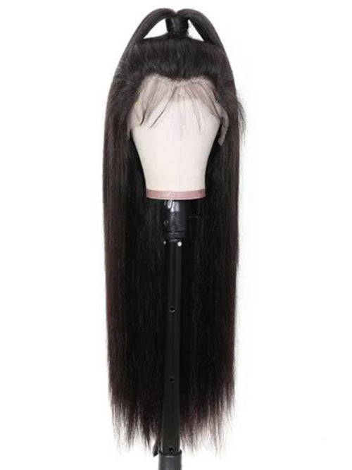 Chinalacewig Undetectable HD Lace Straight Lace Front Front Human Hair Wigs CF247