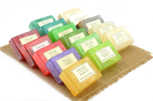 Assorted Natural Handmade Soaps - Aroma Therapy (Pack of 16)