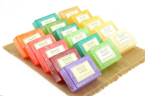 Assorted Natural Handmade Soaps - Flavour Fresh (Pack of 16)