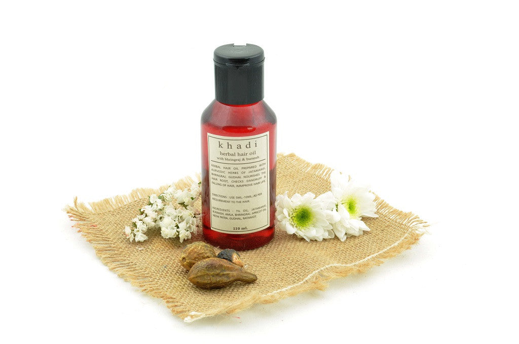 Bhringraj & Buransh Hair Oil 110 ml with ingredients