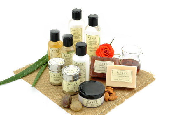 Complete Natural Solution Kit for Dry Skin & Hair with ingredients