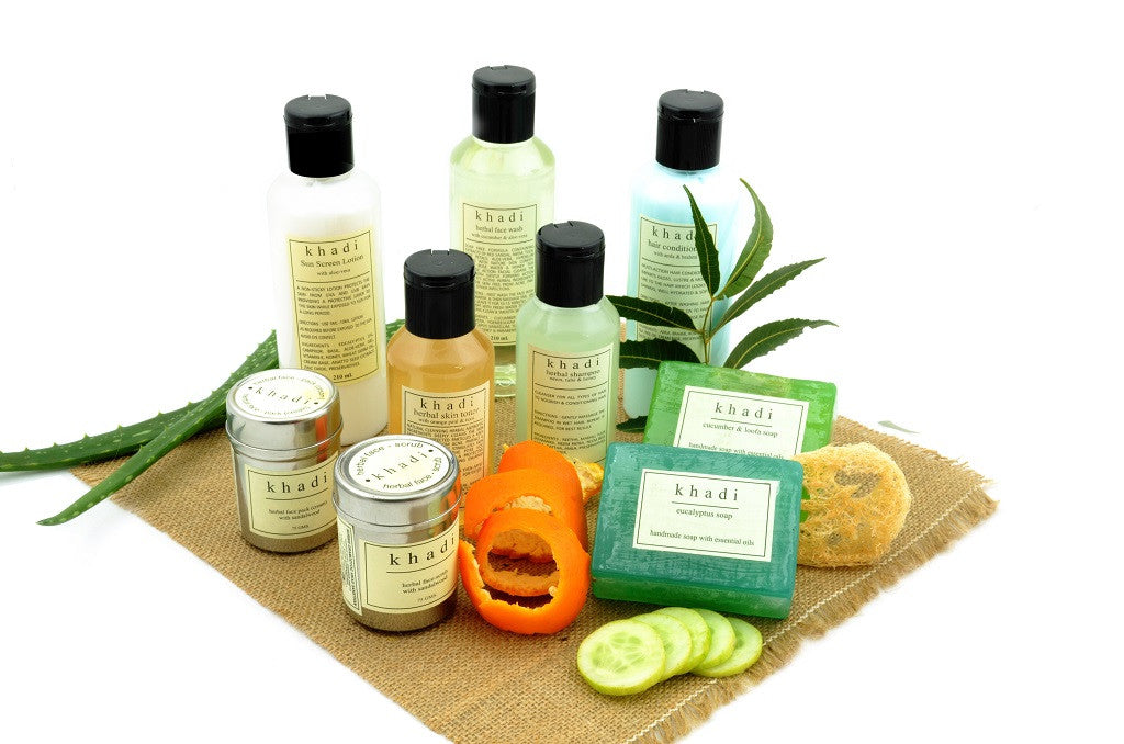 Complete Natural Solution Kit for Oily Skin & Hair with ingredients