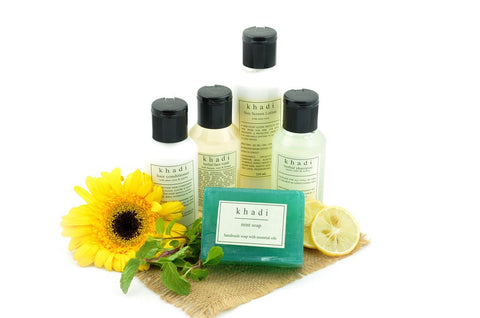 Complete Summer Travel Natural Skin & Hair Care Kit