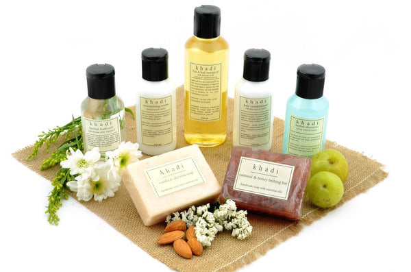 Complete Winter Dryness Care Kit of Creams, Bath & Massage Oils with ingredients