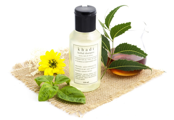 Neem, Tulsi & Honey Shampoo 110 ml with ingredients