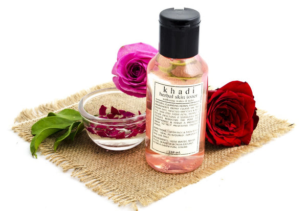 Rose Water & Tulsi Skin Toner 110 ml with ingredients